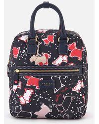 Radley - Speckle Dog Medium Zip-top Backpack - Lyst