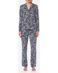 Joules - Astrid Printed Jersey Pyjama Set - Lyst