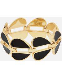 Kate Spade Heritage Spade Heart Link Bracelet - Black