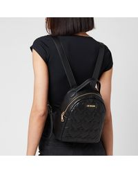 Love Moschino - Heart Quilt Backpack - Lyst