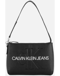Calvin Klein Shoulder Pouch - Black