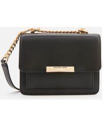 Michael Kors Jade Xs Gusset Crossbody Bag Black