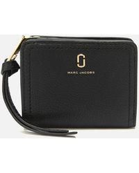 Marc Jacobs Mini Compact Wallet - Black