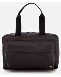Paul Smith Deluxe Leather Holdall in Black for Men - Lyst a33bc0f112