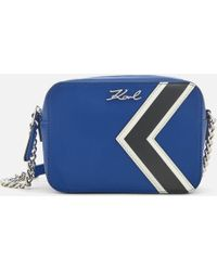 Karl Lagerfeld - K/stripes Bag - Lyst