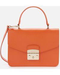 Furla - Metropolis Small Top Handle Bag - Lyst