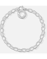 Thomas Sabo Charm Club Classic Charm Bracelet - Metallic