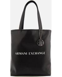 Armani Exchange - Reversible Love Potion Shopper Bag - Lyst