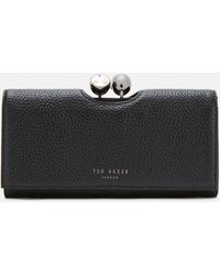 Ted Baker Solange Tb Pave Bobble Matinee Ladies' Wallet - Black
