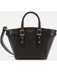 Aspinal of London Marylebone Mini Bag - Black