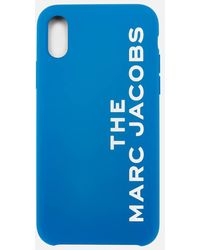 Marc Jacobs The Silicone Iphone X/xs Case - Blue