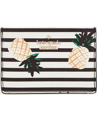 Kate Spade - Pineapples Card Holder - Lyst
