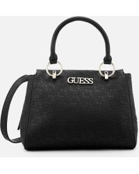 Guess - Heritage Pop Girlfriend Satchel - Lyst