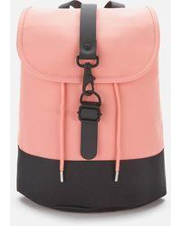 Rains Drawstring Backpack - Pink