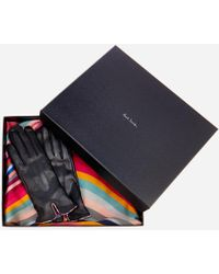 Paul Smith - Women's Swirl Scarf And Gloves Gift Set - Lyst