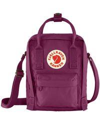 Fjallraven Kanken Sling Cross Body Bag Royal Purple