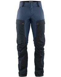 Fjallraven Keb Trousers Regular Leg Dark Navy / Uncle Blue