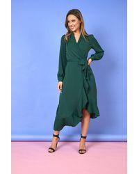 mykindofdress Sara Wrap Dress - Green
