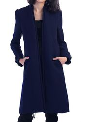Jolie Moi Shirley Coat - Blue