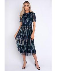 mykindofdress Alva Navy Dress - Blue
