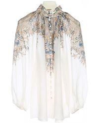 Zimmermann Paisley Motif Shirt - White