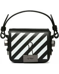 Off-White c/o Virgil Abloh Belt Bag With Logo - Black