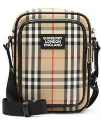 Burberry Vintage Check Messenger Bag - Multicolour