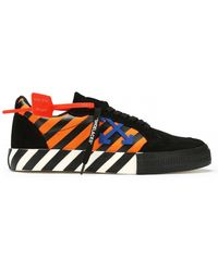 Off-White c/o Virgil Abloh Low Vulcanized Sneakers - Multicolor