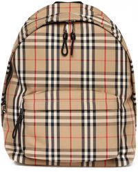 Burberry Vintage Check Backpack - Multicolor