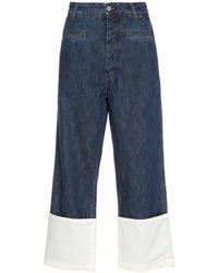 Loewe Cotton Jeans - Blue