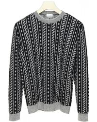 Saint Laurent Wool And Mohair Sweater - Multicolor