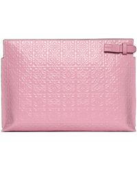 Loewe Pouch Repeat Bag - Pink