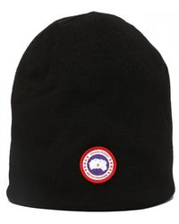 Canada Goose Wool Beanie - Black