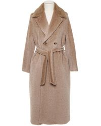 Max Mara Studio Double-breasted Pinte Coat - Multicolour