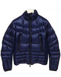 3 MONCLER GRENOBLE Canmore Down Jacket - Blue