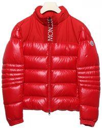 Moncler Bruel Down Jacket - Red