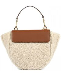 Wandler Hortensia Mini Wool Baby Bag - Brown