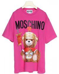 Moschino Teddy Bear T-shirt - Pink