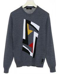 Fendi - Fleece Wool Sweater - Lyst