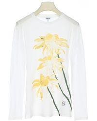 Loewe Printed Long-sleeved T Shirt - Multicolor