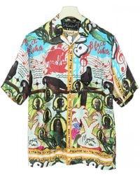Martine Rose - Printed Viscose Shirt - Lyst
