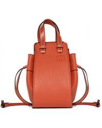 Loewe Bolso Hammock Mini Bag - Red
