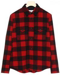 Woolrich Tartan Wool Shirt - Red