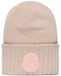Moncler Tricot Beanie - Pink