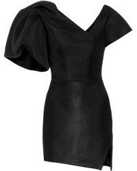 Maticevski Peacock Minidress - Black