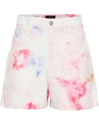 Isabel Marant High-Rise Jeansshorts Esquia - Pink