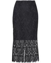 Diane von Furstenberg Lace skirt - Negro