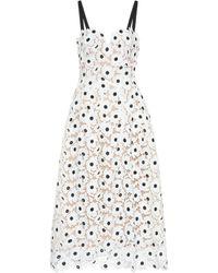Oscar de la Renta - Guipure Lace Dress - Lyst