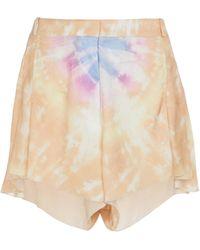 Paco Rabanne Bedruckte Shorts - Orange