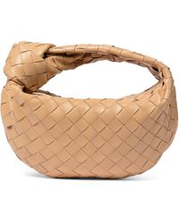 Bottega Veneta Bv Jodie Mini Leather Tote - Natural